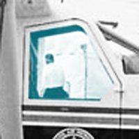 WINDOW CO-PILOT DOOR - RH FWD