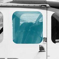 WINDOW REAR DOOR AFT - LH