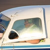 WINDOW DOOR PILOT, OUTER (NO.1 LHS) -
